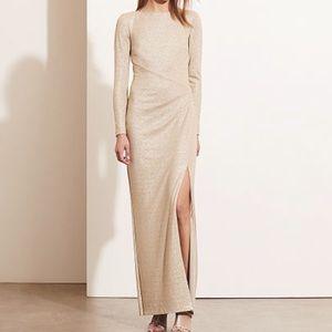Lauren Ralph Lauren Gold Metallic Evening Gown